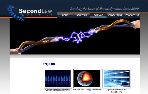 Second Law Science